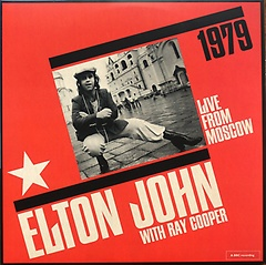 """<font title=""""Elton John - Live From Moscow [180g Ultra Clear 2LP] [Limited Edition]"""">Elton John - Live From Moscow [180g Ultr...</font>"""