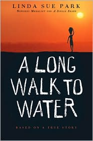 """<font title=""""A Long Walk to Water : Based on a True Story (Hardcover)   """">A Long Walk to Water : Based on a True S...</font>"""