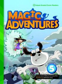 "<font title=""Magic Adventures 5 : Story Book + Audio CD:3 (Paperback, 학부모가이드/단어카드 포함)"">Magic Adventures 5 : Story Book + Audio ...</font>"