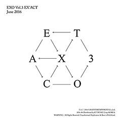 엑소(EXO) 3집 - EX'ACT [Korean Ver.][Lucky One Ver./ Monster Ver. 2종 중 랜덤 발송]