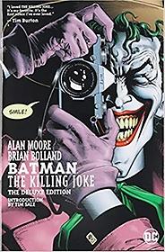 "<font title=""Batman: The Killing Joke, Deluxe Edition (Hardcover) "">Batman: The Killing Joke, Deluxe Edition...</font>"