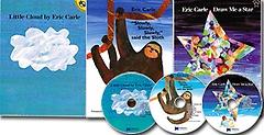 "<font title=""[노부영] 에릭칼 신간 3종 Set: Draw Me a Star, Little Cloud, Slowly Slowly Slowly said the Sloth (Paperback:3+CD:3)"">[노부영] 에릭칼 신간 3종 Set: Draw Me a ...</font>"