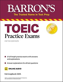 """<font title=""""TOEIC Practice Exams with online audio (Paperback/ 5th Ed.)"""">TOEIC Practice Exams with online audio (...</font>"""
