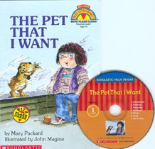 The Pet that I Want - Scholastic Hello Reader CD Set 1-18 (Paperback+Audio CD)