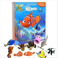"""<font title=""""디즈니 니모를 찾아서 Finding Nemo: My Busy Book (Board Book+피규어포함)"""">디즈니 니모를 찾아서 Finding Nemo: My Bu...</font>"""