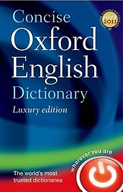 """<font title=""""Concise Oxford English Dictionary (Hardcover / 12th Ed.)"""">Concise Oxford English Dictionary (Hardc...</font>"""