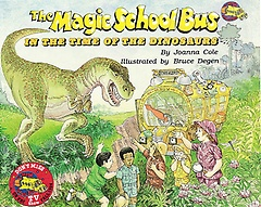 The Magic School Bus in the Time of the Dinosaurs (Paperback+Audio CD)