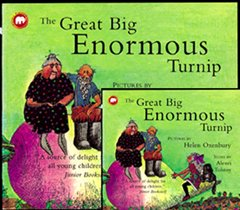 [��ο�]The Great Big Enormous Turnip (Paperback+ CD)
