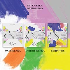 세븐틴(Seventeen) - SEVENTEEN 8th Mini Album 'Your Choice' [ONE SIDE+OTHER SIDE+BESIDE][패키지]
