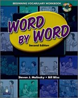 """<font title=""""Word by Word Beginning Vocabulary Workbook with CD (2nd Edition/ Paperback+ Audio CD 1)"""">Word by Word Beginning Vocabulary Workbo...</font>"""