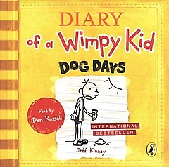 "<font title=""Diary of a Wimpy Kid book 4 : Dog Days (CD-Audio, Unabridged ed)"">Diary of a Wimpy Kid book 4 : Dog Days (...</font>"