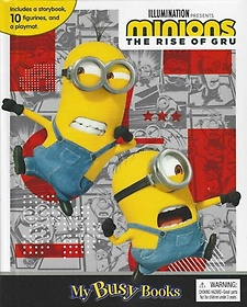 """<font title=""""Minions 2 My Busy Book 미니언즈 2 비지북 """">Minions 2 My Busy Book 미니언즈 2 비지북...</font>"""