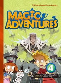 "<font title=""Magic Adventures 4 : Story Book + Audio CD:3 (Paperback, 학부모가이드/단어카드 포함)"">Magic Adventures 4 : Story Book + Audio ...</font>"