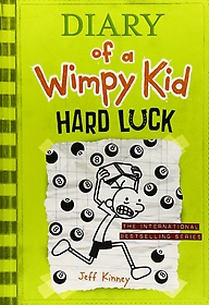 "<font title=""Diary of a Wimpy Kid #8: Hard Luck (Paperback/ 미국판)"">Diary of a Wimpy Kid #8: Hard Luck (Pape...</font>"