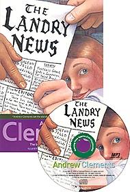 The Landry News (Paperback+ MP3 CD:1)