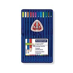 스테들러 에고소프트 색연필157 12색