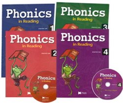 Phonics in Reading Set : Book 1 - 4 (Student Book:4 + CD:4)