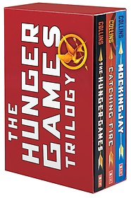 "<font title=""The Hunger Games Trilogy Box Set (Paperback:3)"">The Hunger Games Trilogy Box Set (Paperb...</font>"
