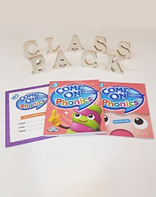 Come On Phonics 3 Class Pack