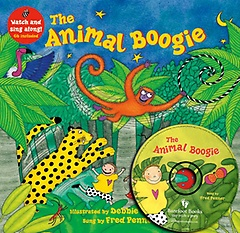 "<font title=""[노부영]The Animal Boogie (Paperback+Hybrid CD:1)"">[노부영]The Animal Boogie (Paperback+Hyb...</font>"