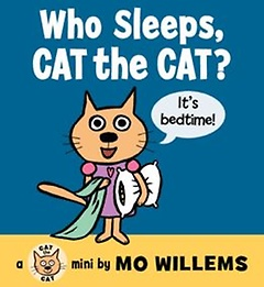 Who Sleeps, Cat the Cat? (Board Book)