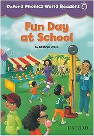"<font title=""Oxford Phonics World Readers 4-2: Fun Day at School (Paperback)"">Oxford Phonics World Readers 4-2: Fun Da...</font>"
