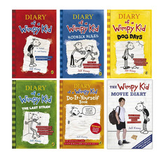 "<font title=""Diary of a Wimpy Kid 6종 Set (Hardcover:2+ Paperback:4/ 영국판)"">Diary of a Wimpy Kid 6종 Set (Hardcover:...</font>"