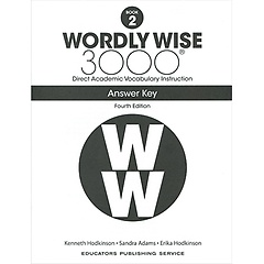 """<font title=""""Wordly Wise 3000 :  Book 2 Answer Key  (Paperback/4th Ed.)"""">Wordly Wise 3000 :  Book 2 Answer Key  (...</font>"""