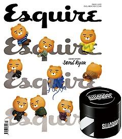에스콰이어 Esquire (월간) 3월호 A형 + [부록] 1.스웨거 헤어 스터너 왁스 매트 타입 50g 정품 2.에..