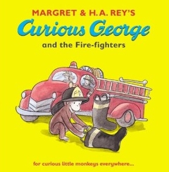 """<font title=""""Curious George and the Fire-fighters (Paperback)"""">Curious George and the Fire-fighters (Pa...</font>"""