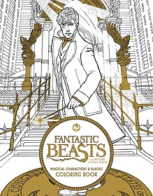 """<font title=""""Fantastic Beasts and Where to Find Them: Magical Characters and Places Coloring (Paperback/ 미국판)"""">Fantastic Beasts and Where to Find Them:...</font>"""