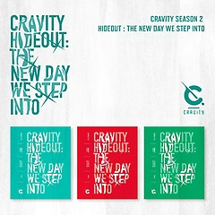 CRAVITY(크래비티) SEASON2. [HIDEOUT: THE NEW DAY WE STEP INTO] [VER.1+VER.2+VER.3][패키지]