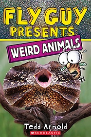 """<font title=""""Fly Guy Presents #14 : Weird Animals (Paperback)"""">Fly Guy Presents #14 : Weird Animals (Pa...</font>"""