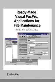 """<font title=""""Ready-made Visual Fox Applications for File Maintenance (Paperback)"""">Ready-made Visual Fox Applications for F...</font>"""