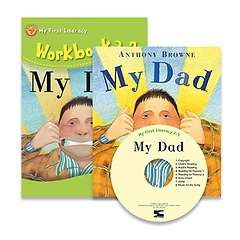 My Dad: My First Literacy 2-7 (Paperback +Activity Book +CD:1)
