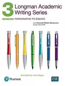 Longman Academic Writing Series 3: Paragraphs to Essays (Paperback / 4th Ed.) 책표지