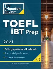 "<font title=""Princeton Review TOEFL IBT Prep with Audio/Listening Tracks, 2021 (Paperback)"">Princeton Review TOEFL IBT Prep with Aud...</font>"