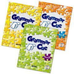 Grammar Cue 3종 Set (Paperback:3+ CD:3+ Workbook:3)