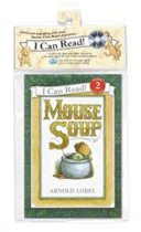 Mouse Soup - I Can Read Book Workbook Set Level 2 (Paperback + Workbook + CD)