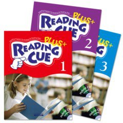 Reading Cue Plus 3종 Set (Paperback:3+ CD:3+ Workbook:3)