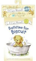 Bathtime for Biscuit - I Can Read, My First (Paperback+CD)