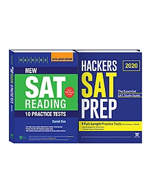 Hackers New SAT Reading + 2020 HACKERS SAT PREP 패키지