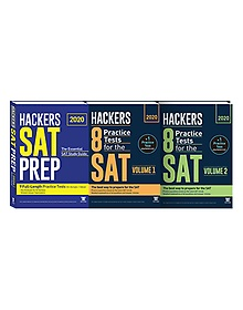 2020 HACKERS SAT PREP + Hackers 8 Practice Tests for the SAT Volume 1~2 패키지