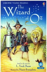 "<font title=""The Wizard of OZ Level 2-49 (Paperback + CD)"">The Wizard of OZ Level 2-49 (Paperback +...</font>"