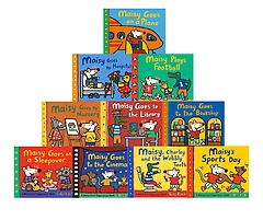 """<font title=""""Maisy First Experiences 10 Book Set (Paperback:10)"""">Maisy First Experiences 10 Book Set (Pap...</font>"""