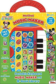 "<font title=""Disney Mickey Mouse Clubhouse: My First Music Fun (Hardcover:8)"">Disney Mickey Mouse Clubhouse: My First ...</font>"