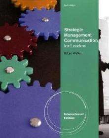 "<font title=""Strategic Management Communication (Paperback / International 2nd Ed.)"">Strategic Management Communication (Pape...</font>"