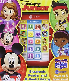"<font title=""Me Reader Disney Junior: Electronic Reader and 8-Book Library (Hardcover:8)"">Me Reader Disney Junior: Electronic Read...</font>"