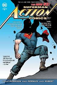 """<font title=""""슈퍼맨 액션 코믹스 Vol.1 슈퍼맨과 강철 인간들  """">슈퍼맨 액션 코믹스 Vol.1 슈퍼맨과 강철 ...</font>"""