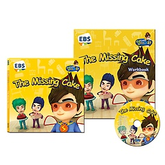 """<font title=""""EBS 번개맨의 영어나라 CD 세트 - The Missing Cake"""">EBS 번개맨의 영어나라 CD 세트 - The Miss...</font>"""